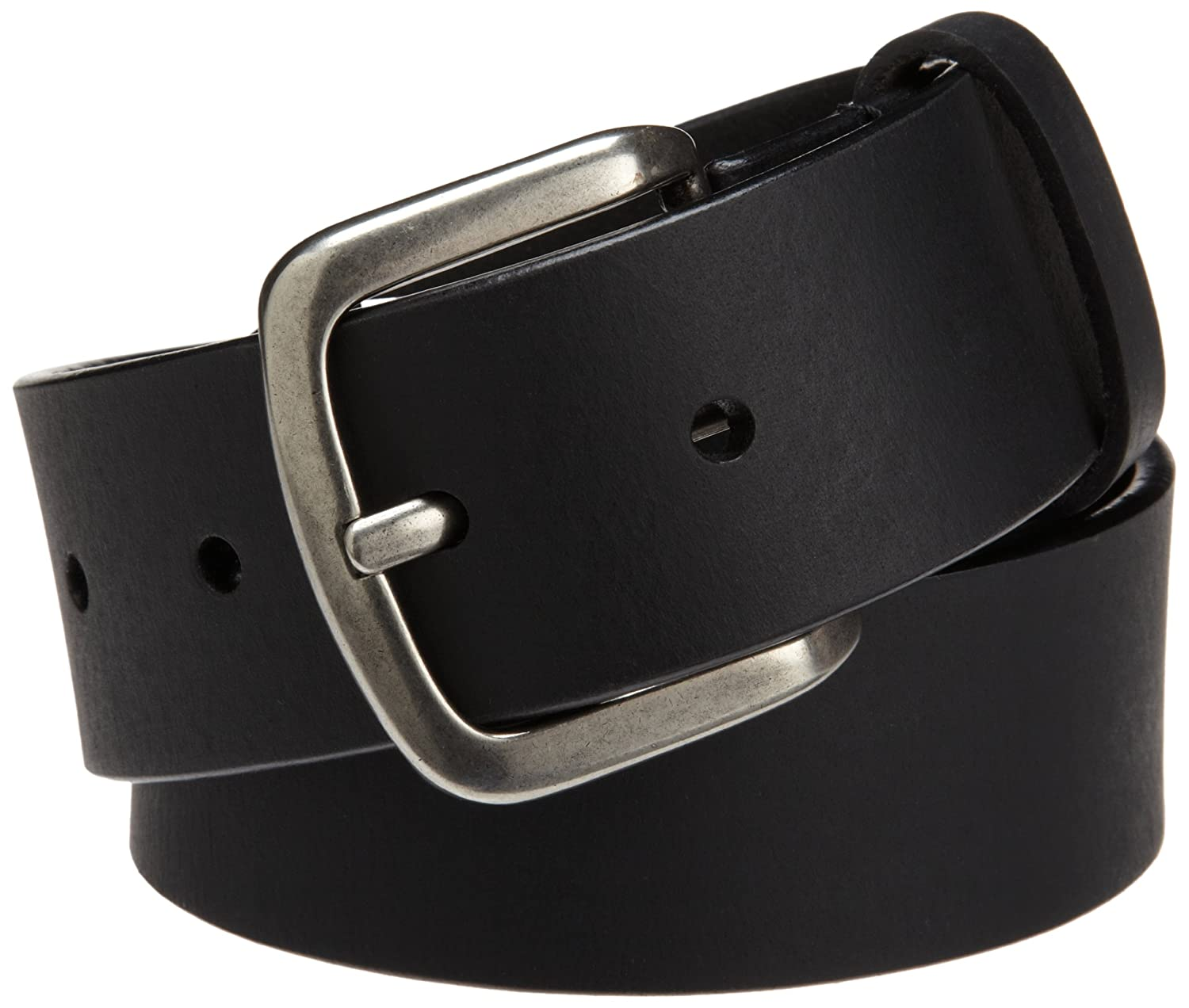 Dickies Mens 40mm Leather Belt With Screw Buckle