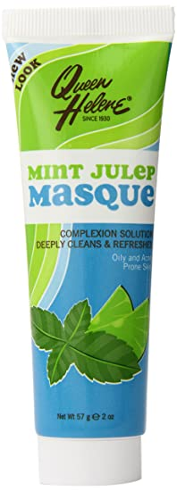 Queen Helene Facial Masque, Mint Julep, 2 Ounce [Packaging May Vary]