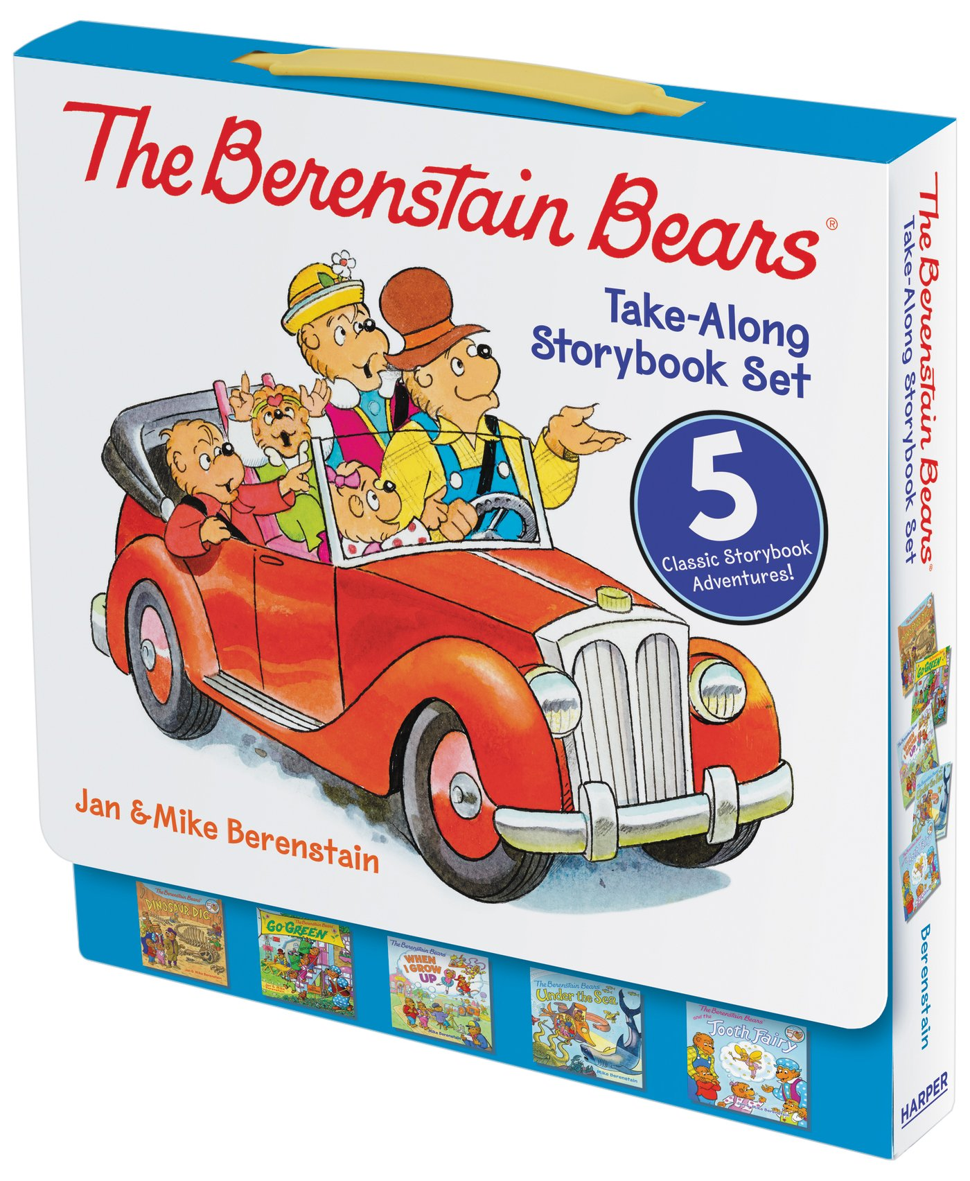 The Berenstain Bears Take Along Storybook Set Dinosaur