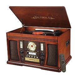 Victrola Nostalgic Aviator Wood