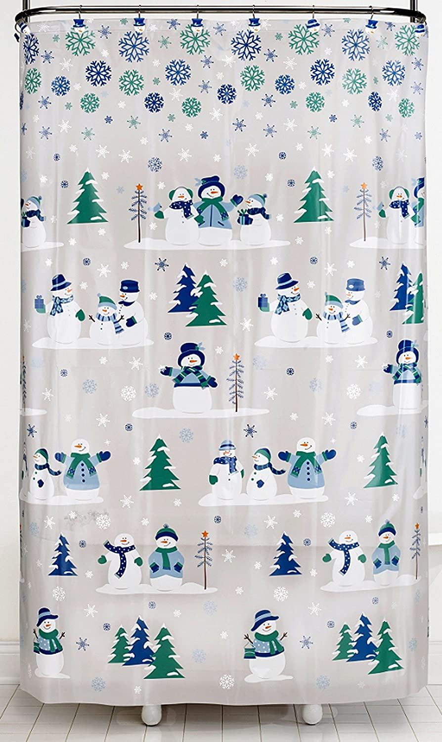 Snowman Shower Curtain Shop Everything Log Homes