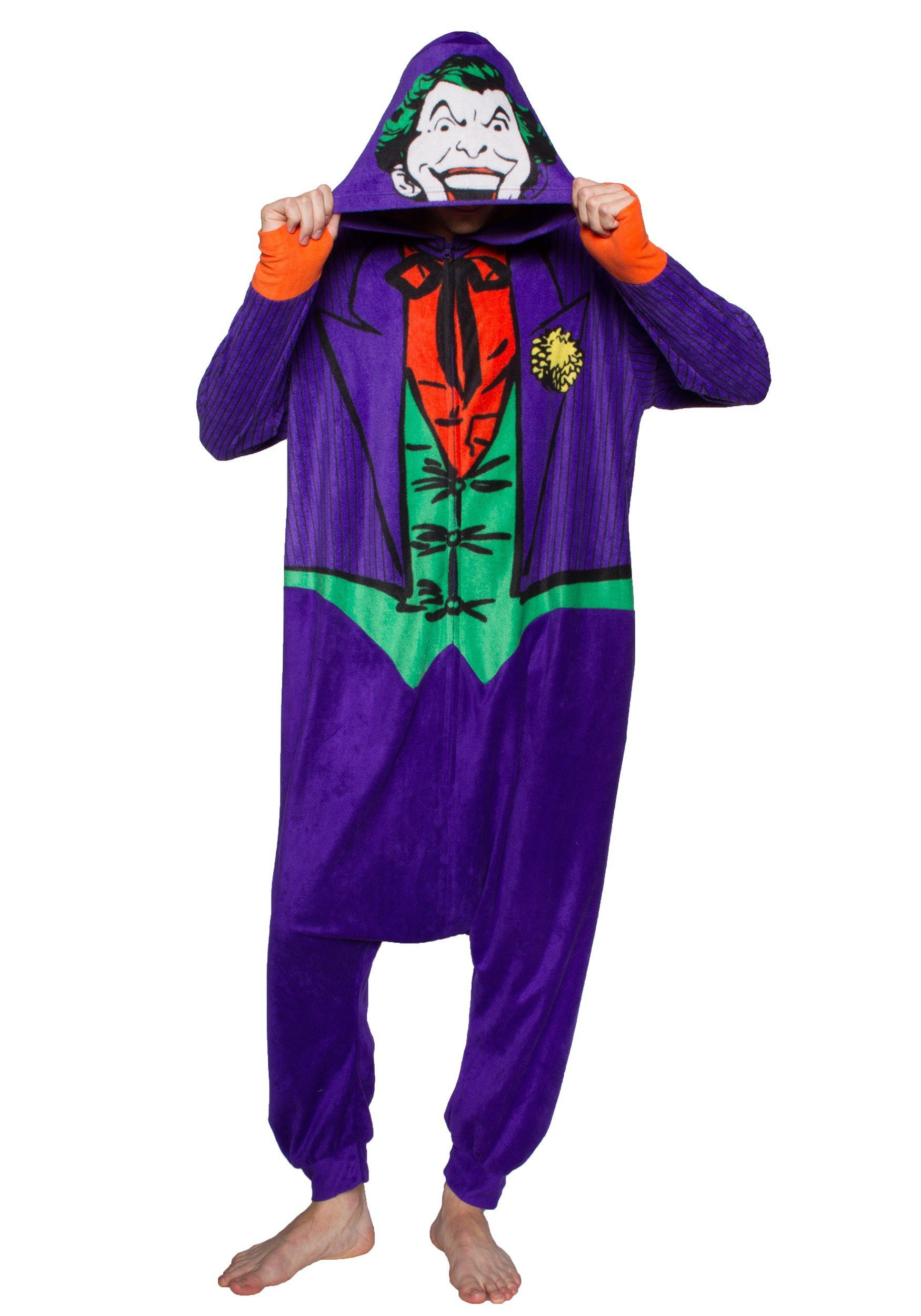 DC Comics The Joker Kigurumi One Piece Pajama