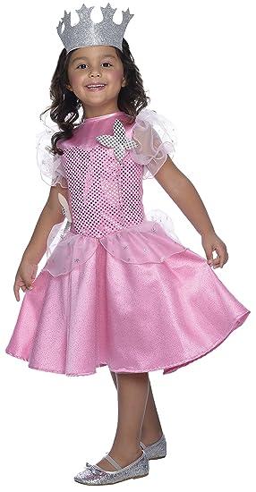 Rubie's Costume Wizard of Oz Glinda Sequin Dress Child Costume, Medium