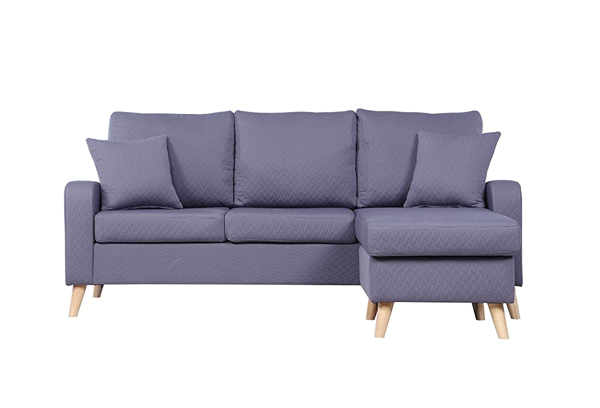 Sectional Sofa Reversible Chaise