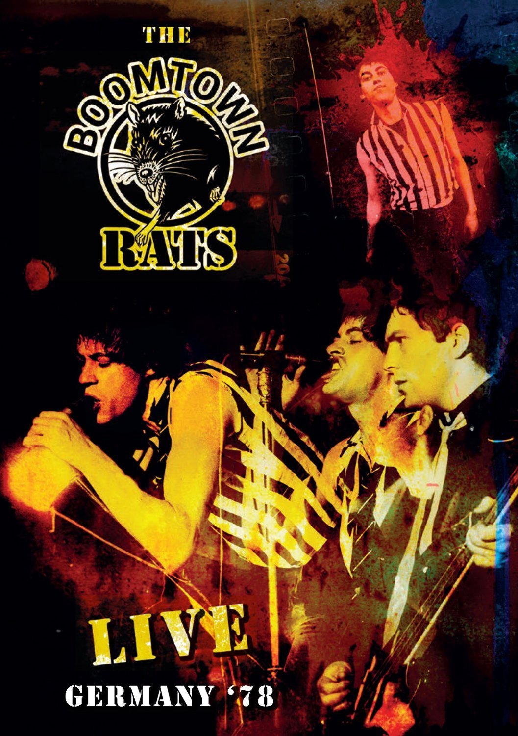 THE BOOMTOWN RATS Live In Germany 78 CD/DVD