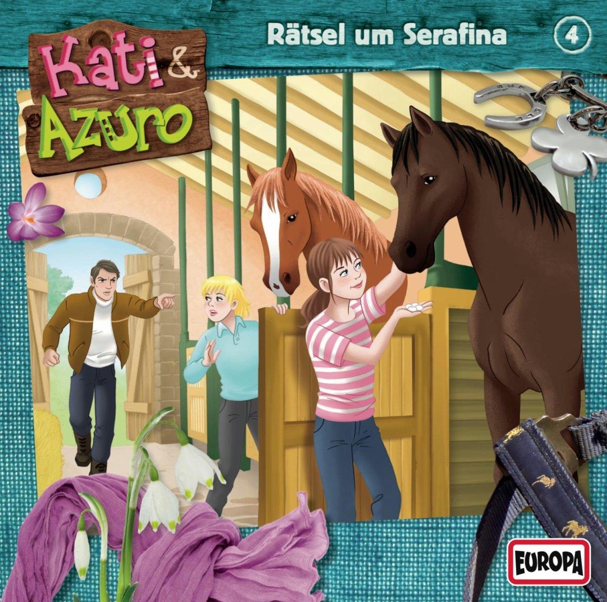 Kati und Azuro (4) Rätsel um Serafina (Europa)