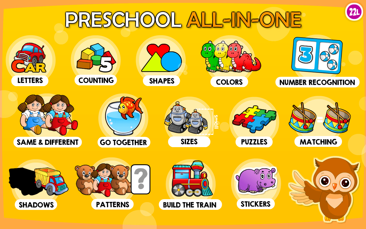 Amazon Preschool All In One Basic Skills Learning Adventure A To Z Letters Numbers