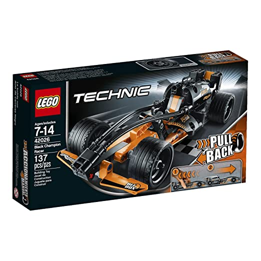 LEGO Technic 42026 Black Champion Racer Model Kit