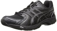 Asics Men's Gel-Tech Walker Neo 4 Walking Shoe,Black/Black/Silver,14 M US