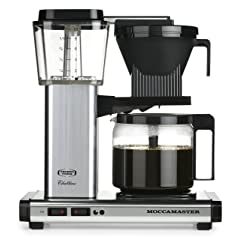 Technivorm Moccamaster KBG 741 10-Cup Coffee Brewer