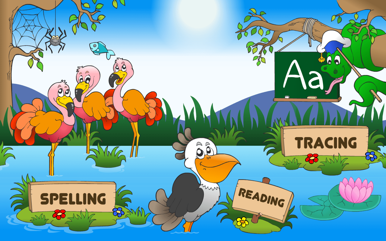 Preschool And Kindergarten Reading Tracing Amp Spelling