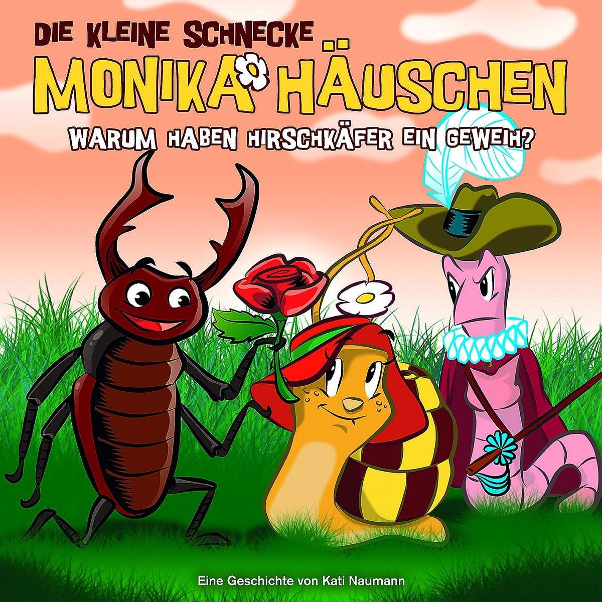 Die kleine Schnecke Monika Häuschen (35) Warum haben Hirschkäfer ein Geweih (Karussell)