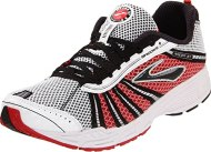 Brooks Racer ST 5 Running Shoe,White/Black/Scarlet/Silver,5 D US
