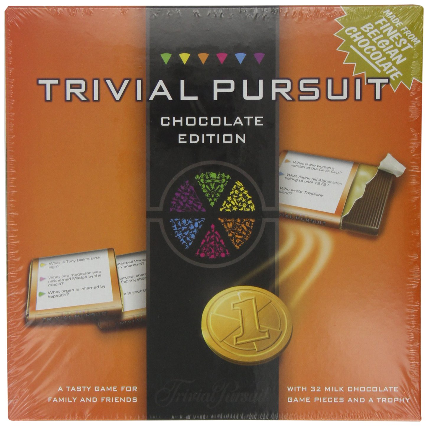 Games For Motion Trivial Pursuit With Chocolate Pieces 170 G