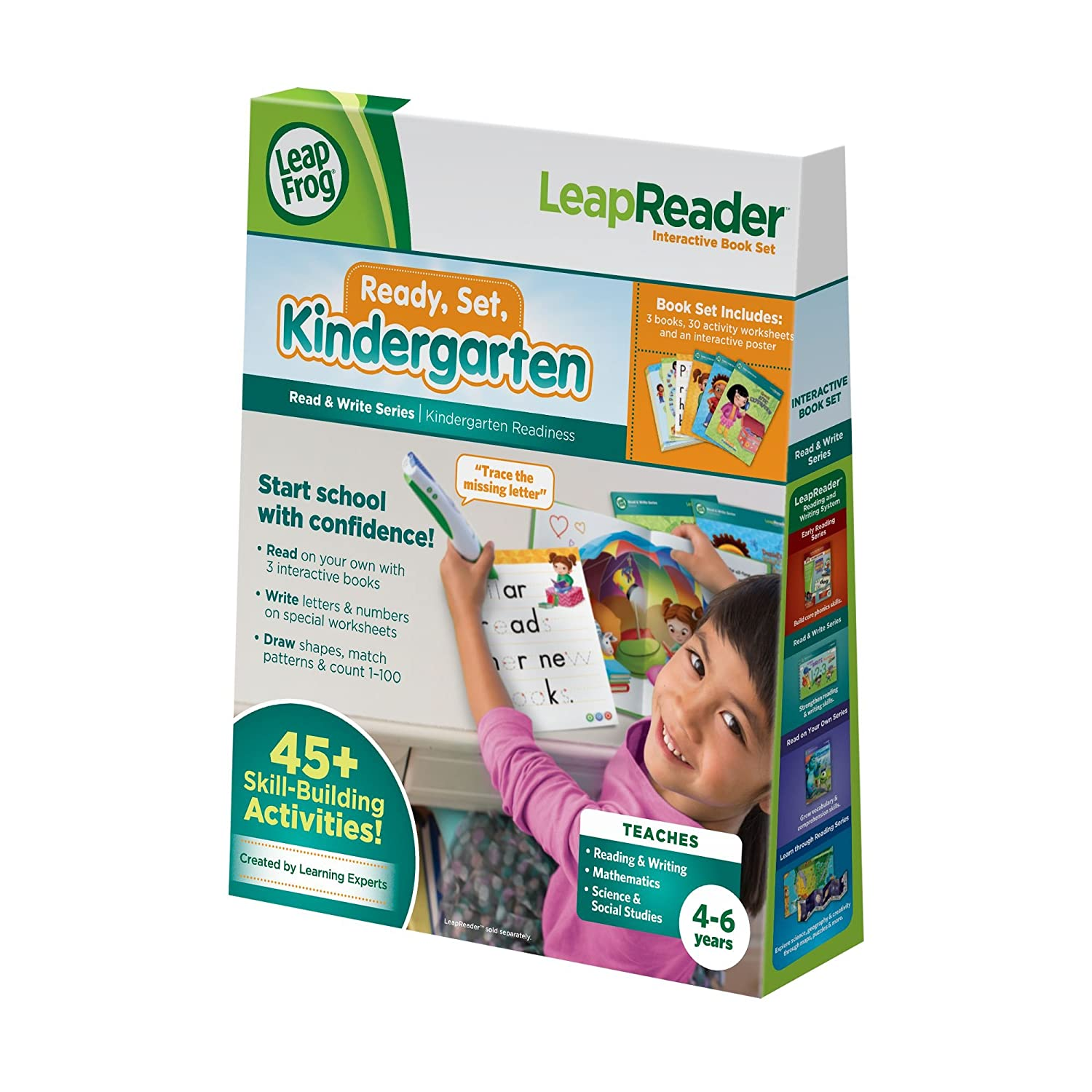 Leapfrog Leapreader Read And Write Book Set Ready Set