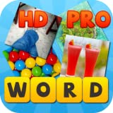 Word4Pics: 4 Pics 1 Word HD Pro