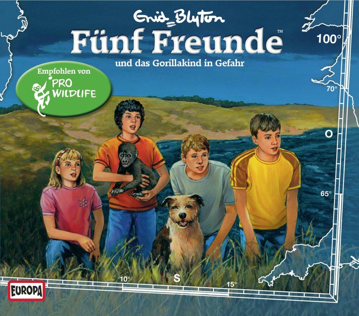 Fünf Freunde (100) und das Gorillakind in Gefahr (Europa)