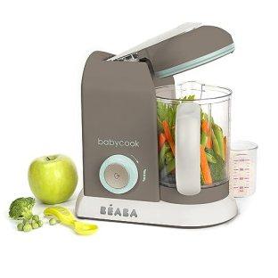 BEABA Babycook Pro- Dishwasher Safe Baby Food Maker-Cooks & Processes