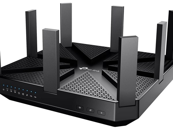 TP-Link Archer C5400 AC5400 Wireless Tri-Band MU-MIMO Gigabit Router (Black)