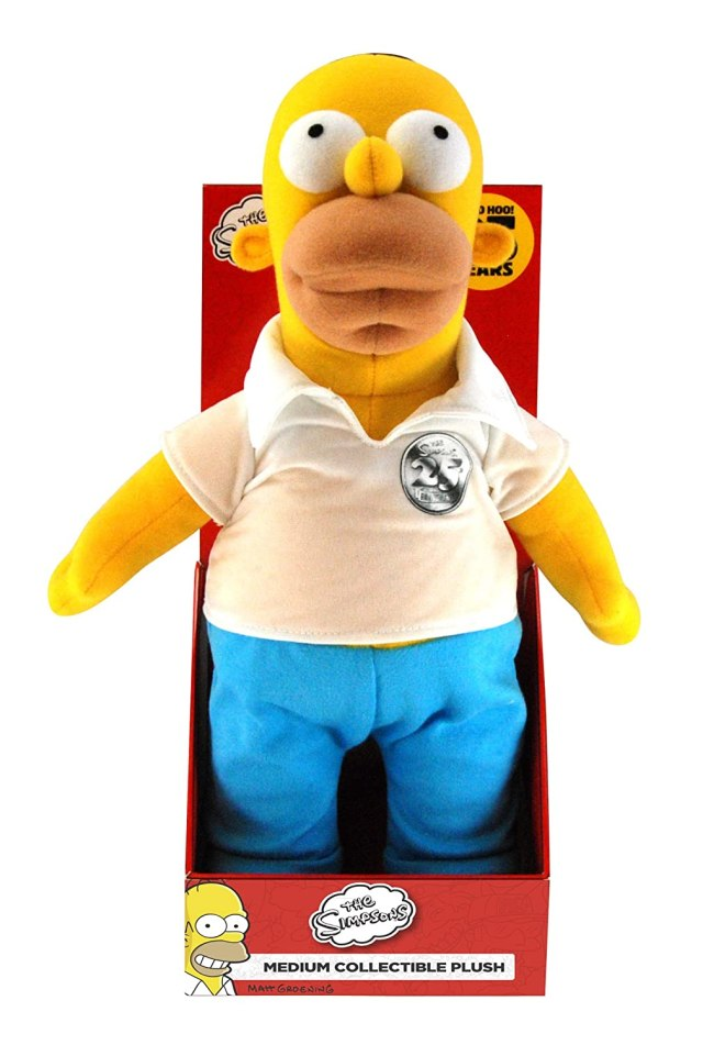 The Simpsons Medium Homer Plush
