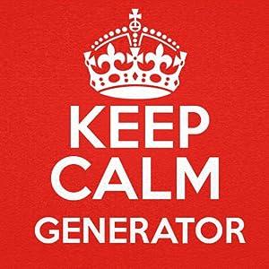 Generatore Mantenere la calma.