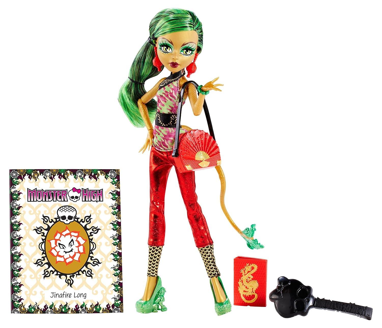 Boneca Mattel Monster High Jinafire Long Foto De Terror