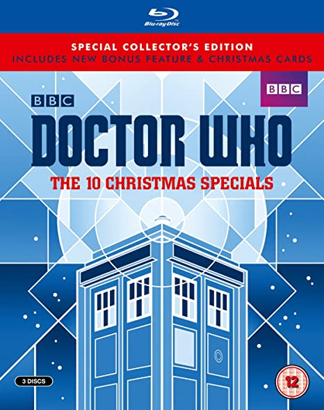 Doctor Who: The 10 Christmas Specials [Blu-ray]