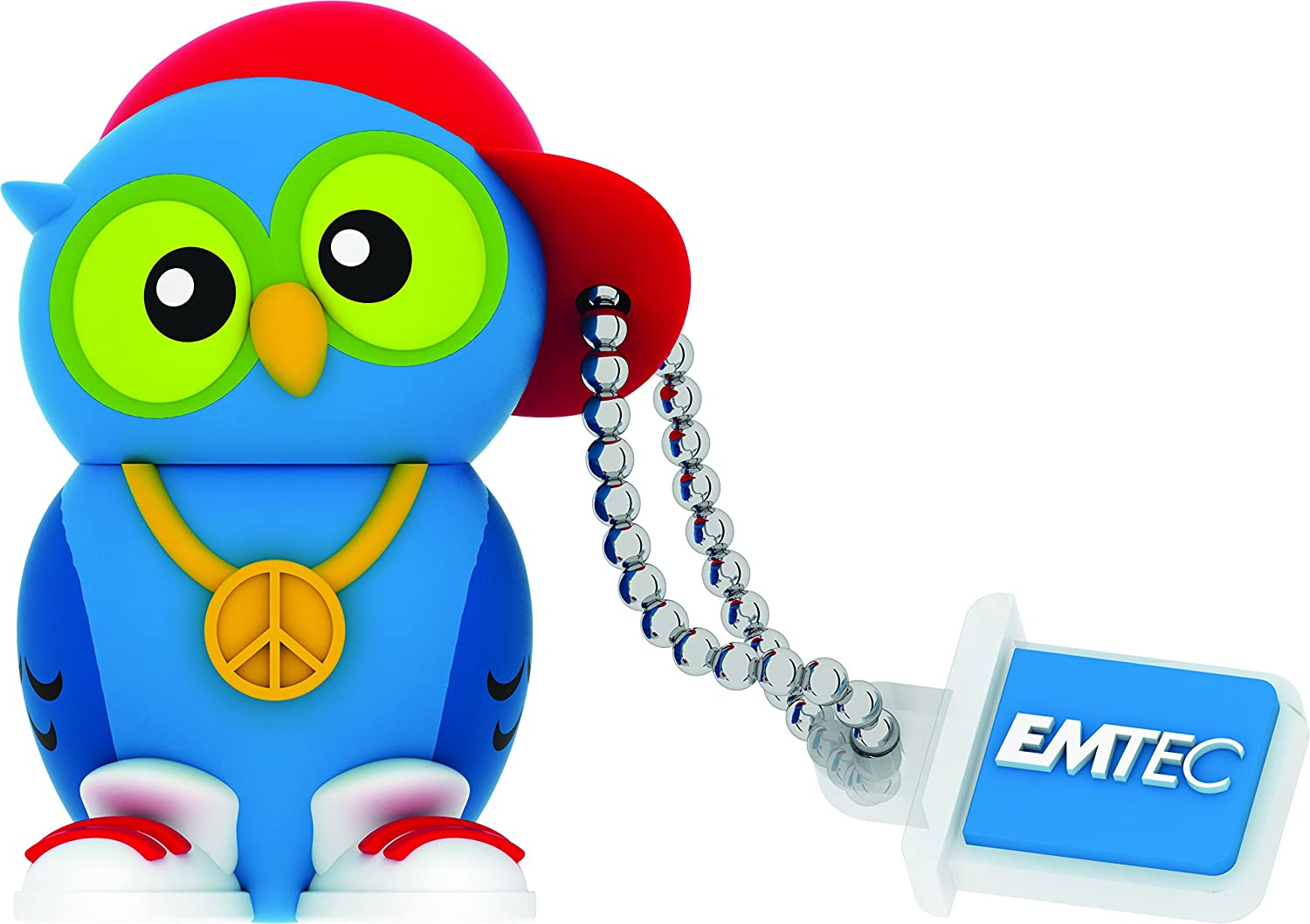 Emtec Forest USB 2.0 (8GB) Flash Drive (DJ Owl)