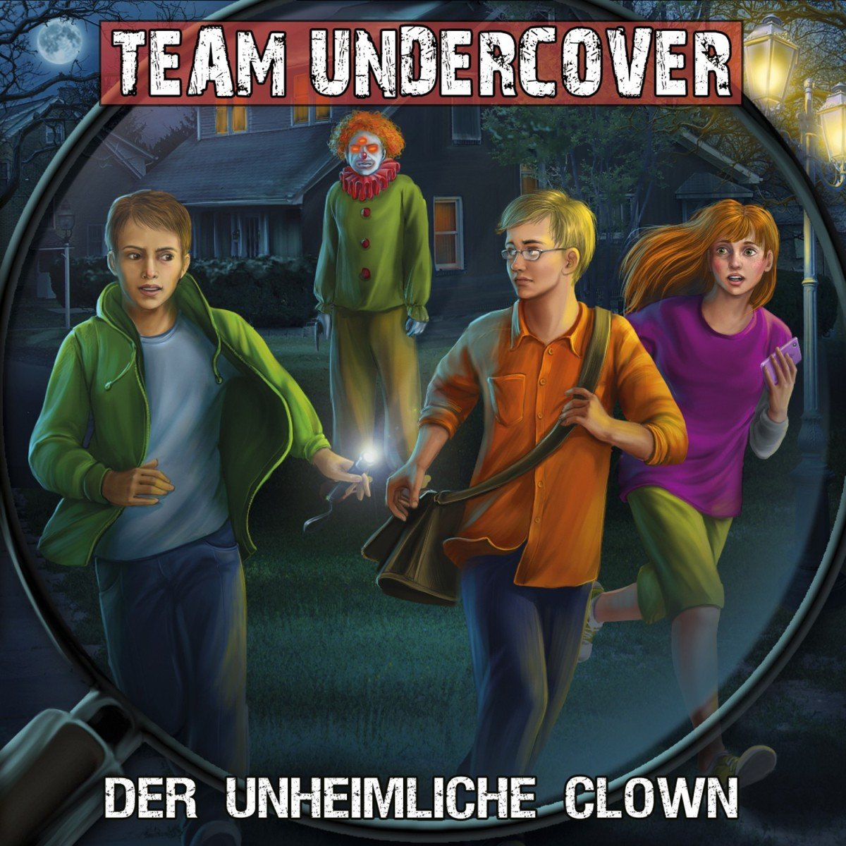 Team Undercover (6) Der unheimliche Clown (Contendo Media)