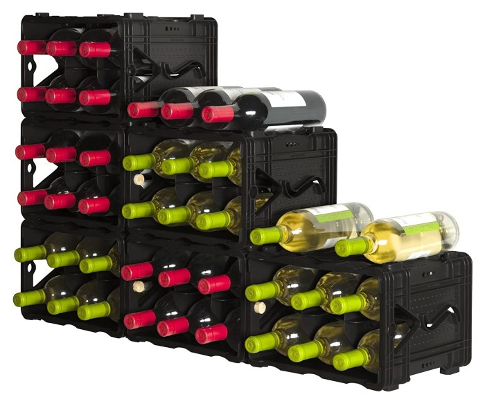 Amazon.com : Storvino Nero 6 Bottle Wine Storage We used one of these to convert a cabinet into a wine cellar.