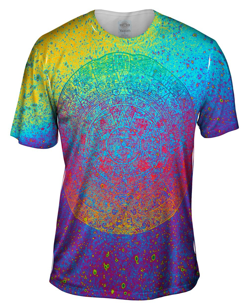 Galaxy Aztec -Tagless- Mens Shirt