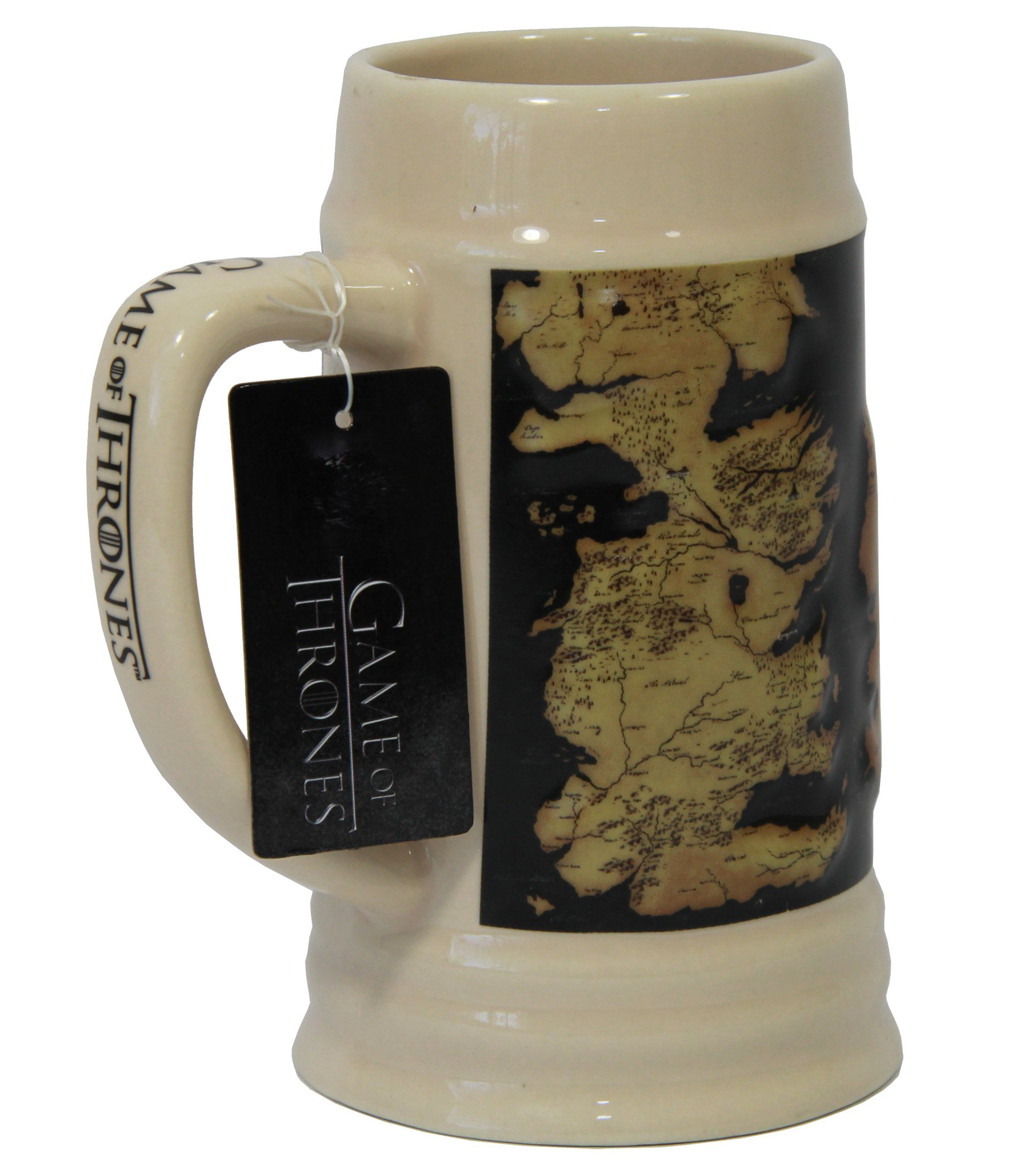 Game of Thrones 22oz Ceramic Map Beer Stein
