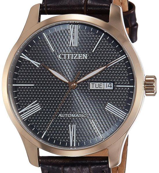 Citizen Analog Black Dial Men's Watch-NH8353-00H
