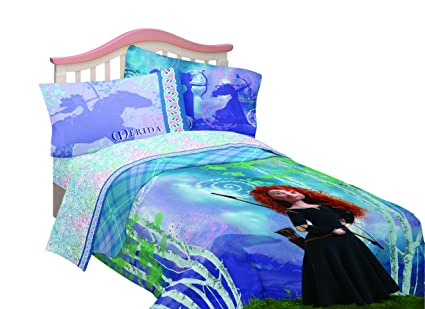 Disney's Brave Merida's Forest Twin Sheet Set