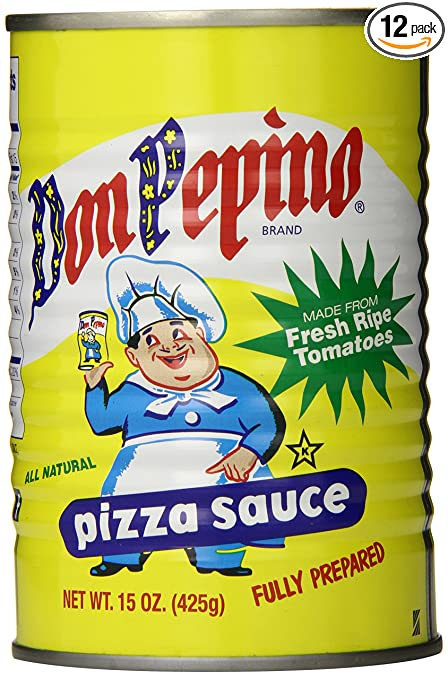 Don Pepino Sauce, Pizza, 15 Ounce (Pack of 12)