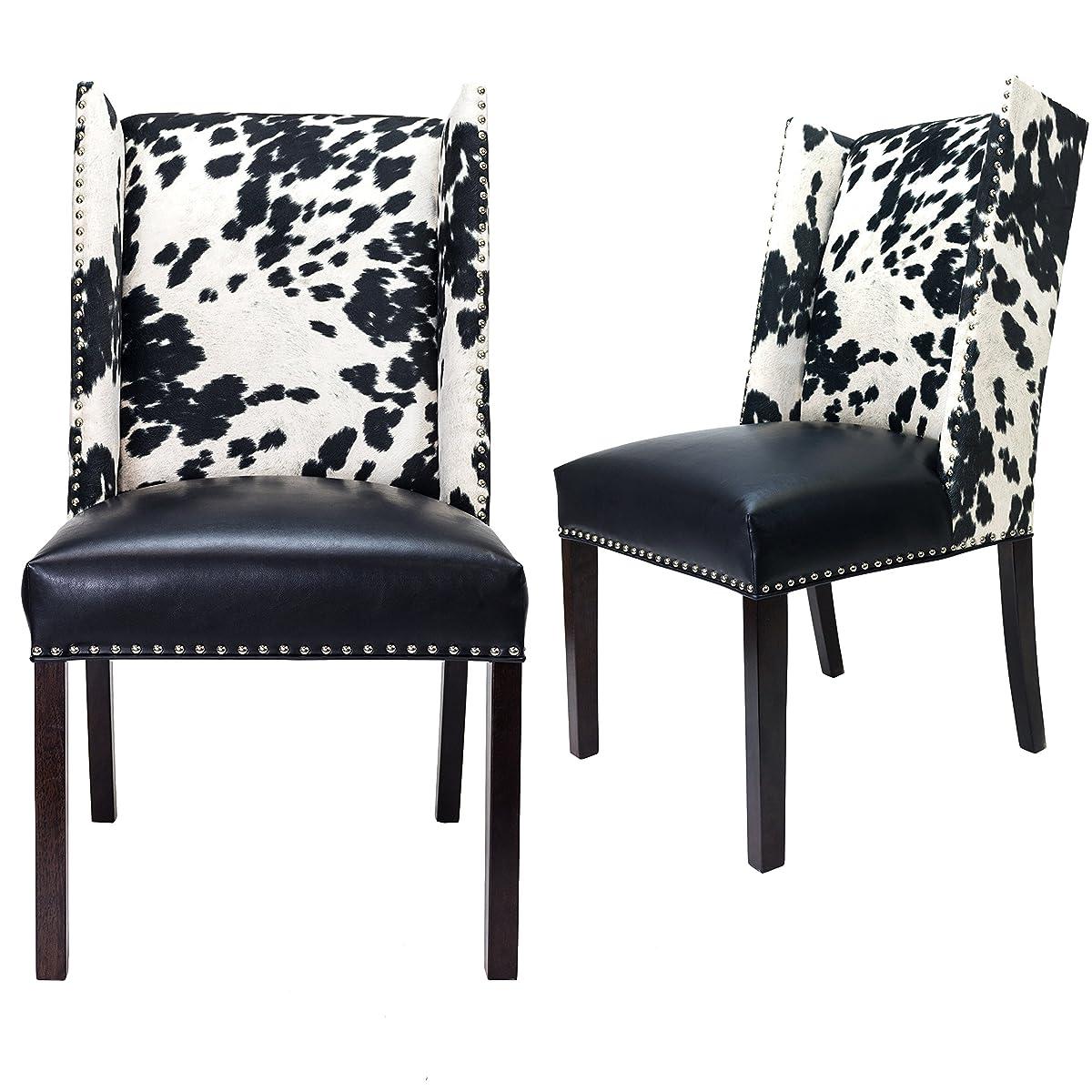 White Upholstered Chair Nailhead Trim