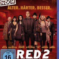 R.E.D. 2 - Noch älter, härter, besser / Regie: Dean Parisot. Darst.: Bruce Willis, John Malkovich, Helen Mirren, Anthony Hopkins  [...]