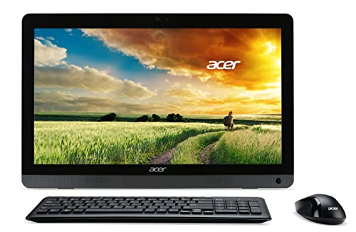 Acer 21.5-Inch All-in-One Touchscreen Desktop (Black)