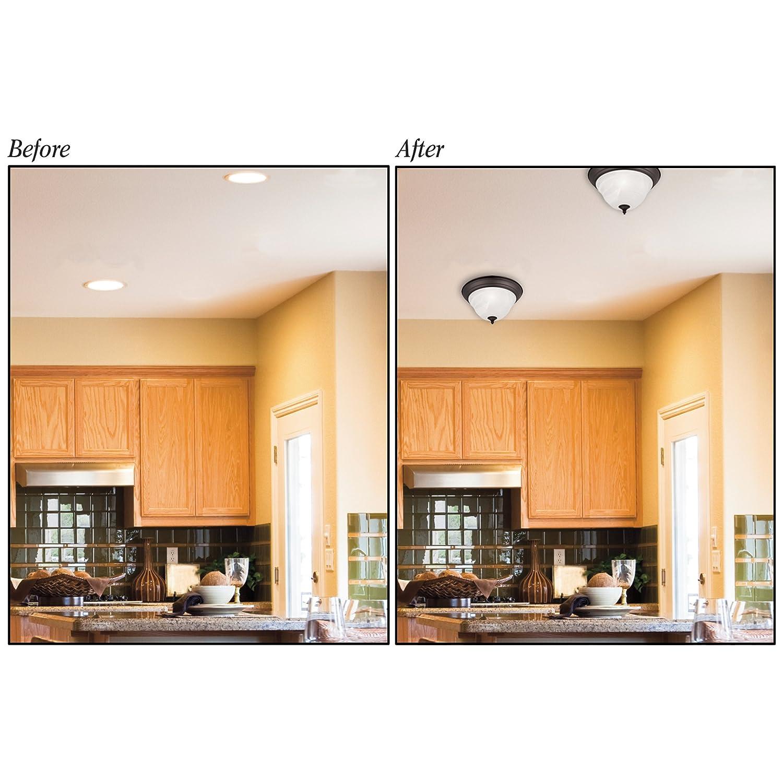 Recessed Lighting Pendant Converter Kit
