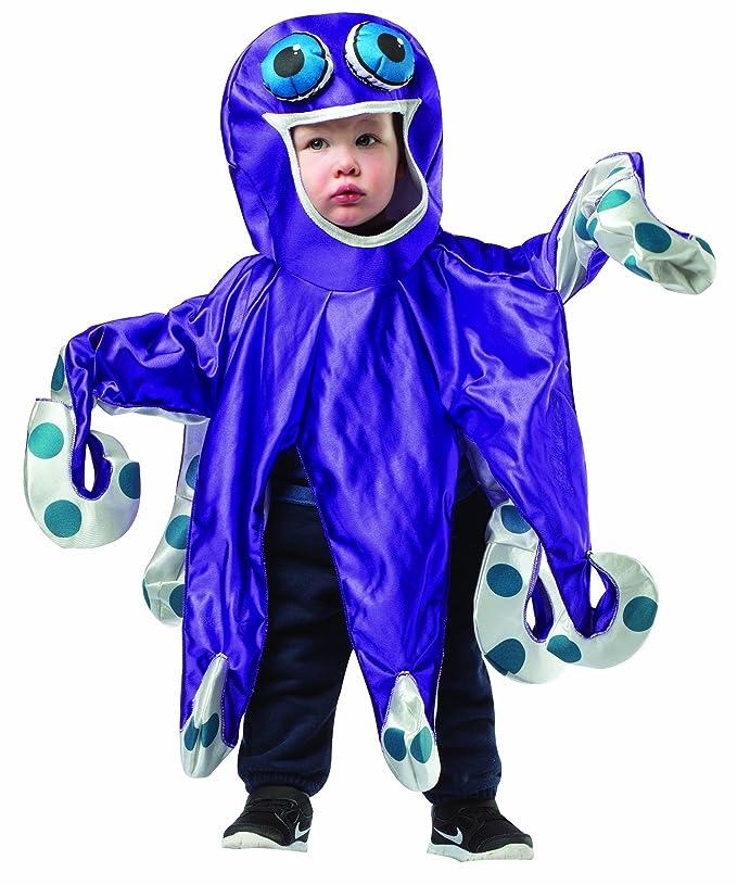 Rasta Imposta Baby's Octopus, Purple/Gray, 18-24 Months
