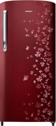 Samsung RR19M1723RY/2723RY Direct-cool Single-door Refrigerator (192 Ltrs, 3 Star Rating, Sanganeri Ring Red)