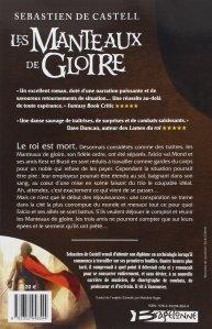 [Critique Littéraire] Les Manteaux de Gloire - Sebastien De Castell