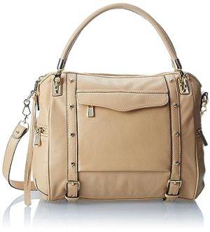 Rebecca Minkoff Cupid Satchel Top Handle Handbag (Biscuit)