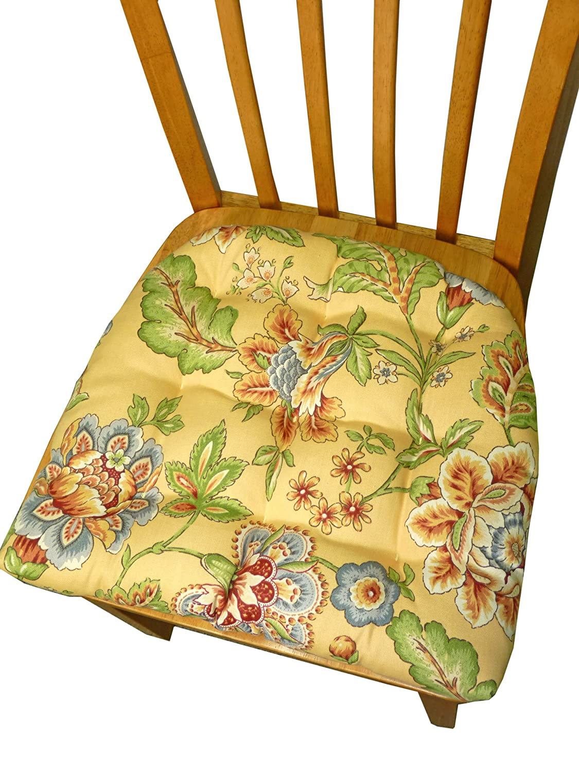 Yellow Kitchen Chair Cushions
