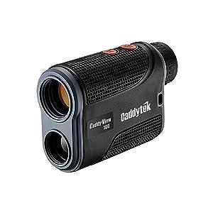 CaddyTek Golf Laser Rangefinder with FlagSeeking