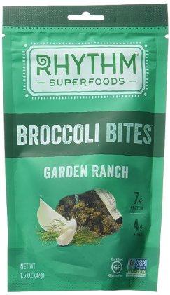 Rhythm Superfoods Broccoli Bites, Garden Ranch, 1.5 Ounce