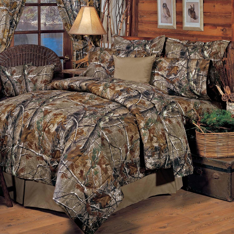 Bedding Sheet Set Realtree All Purpose Camo Camouflage