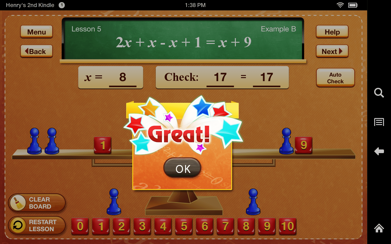 Amazon Hands On Equations 1 Appstore For Android