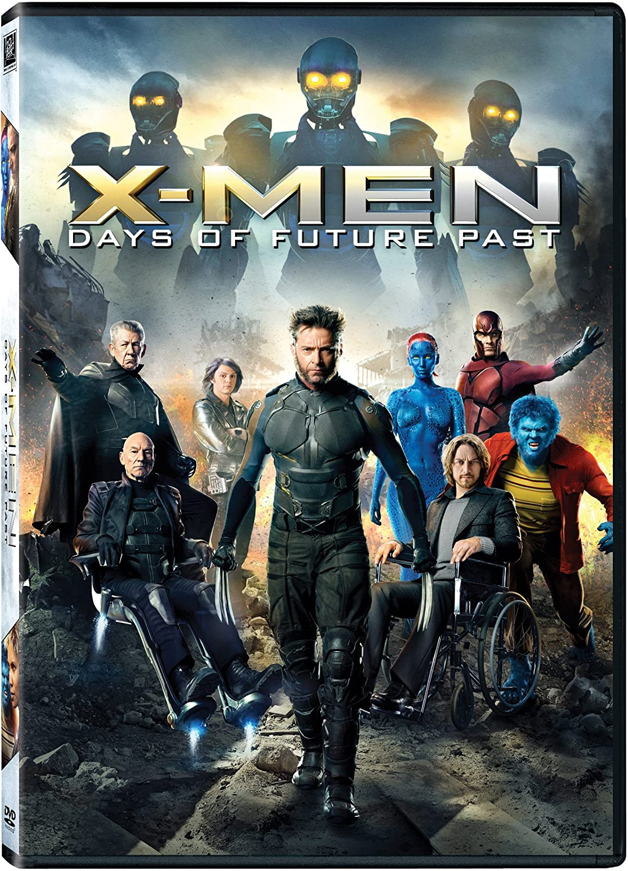 X Men Days Future Past Dvd Cover