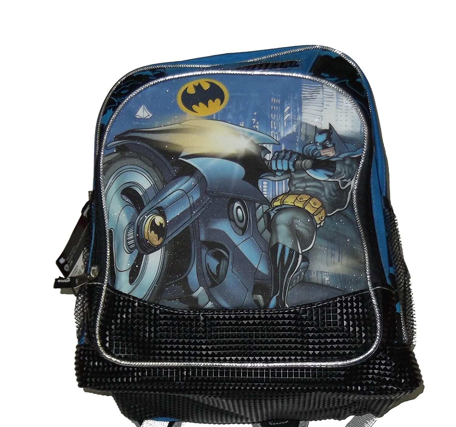 Batman Backpack - Black & Blue